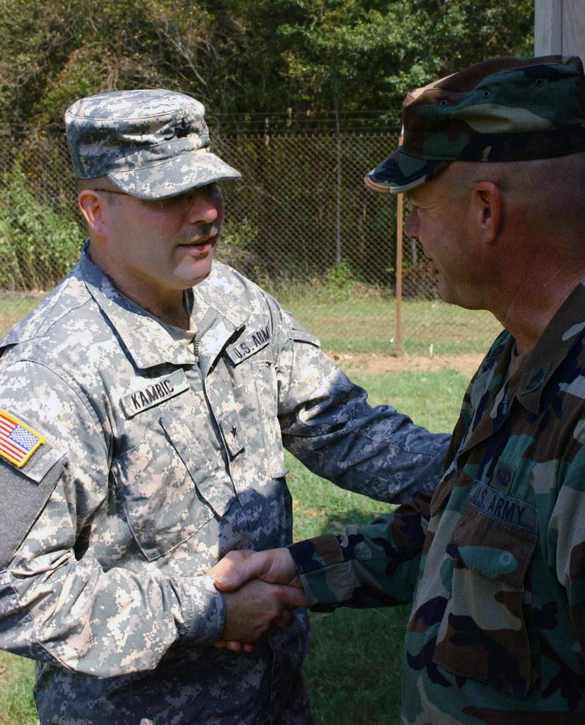 At England Air Force Base (AFB), Louisiana (LA), Ohio Army