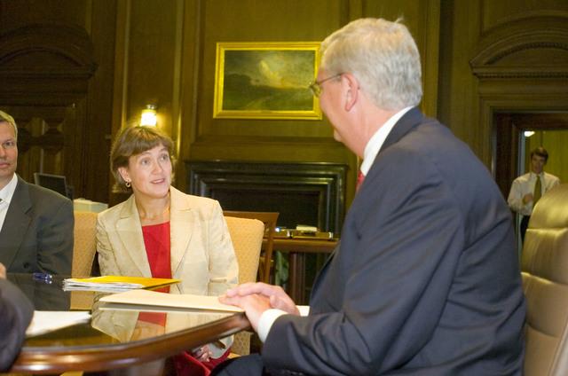 Office of the Administrator (Stephen L. Johnson) - Swedish Minister of the Environment Lena Sommestad [412-APD-114-10-04-05_ME_Sweden_004.jpg]