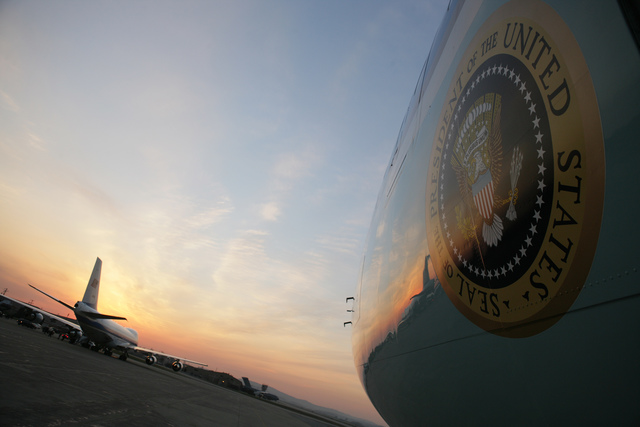 Presidential Seal on Support Plane