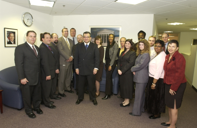 General Counsel Keith Gottfried with Staff - General Counsel Keith Gottfried meeting with staff at HUD Headquarters
