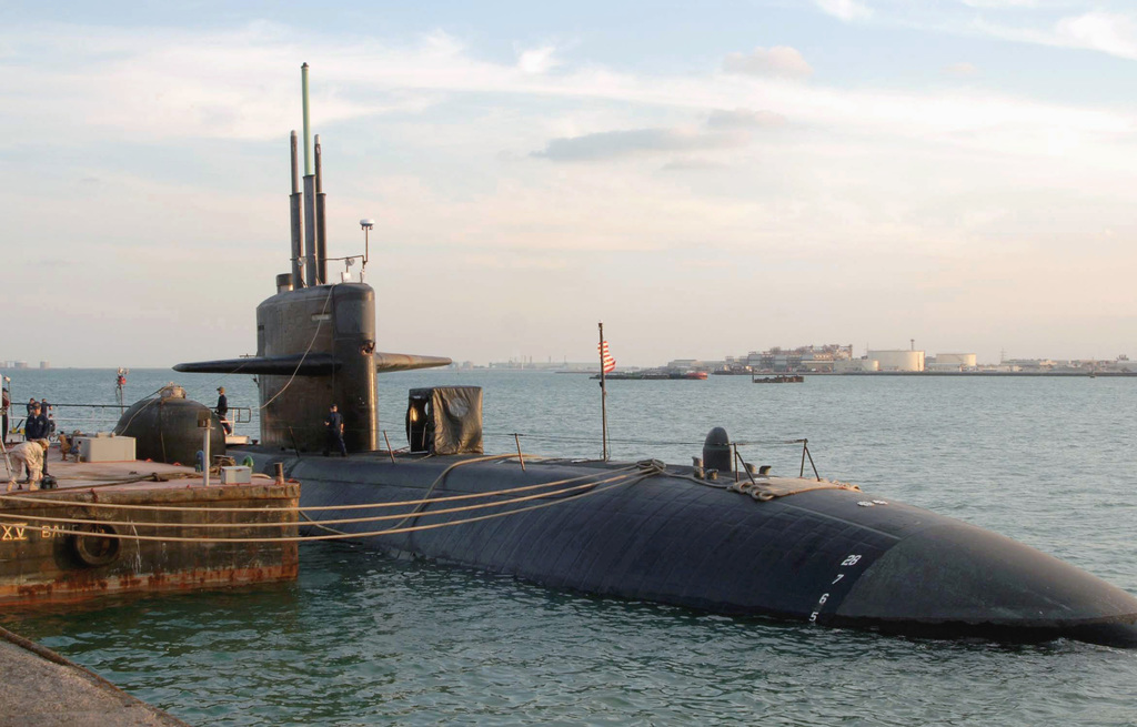 The US Navy (USN) Los Angeles Class: Attack Submarine, USS