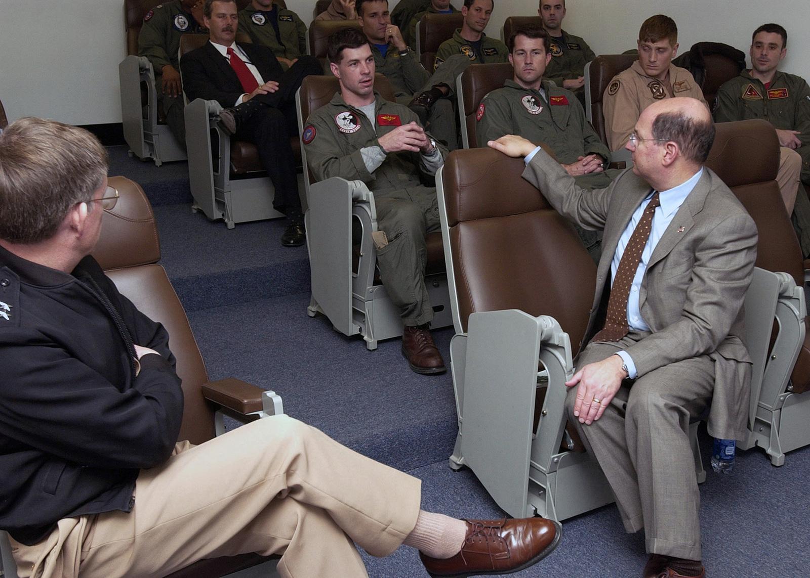 US Secretary of the Navy (SECNAV), the Honorable Dr  Donald