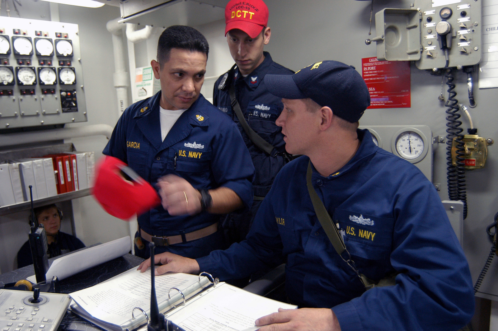 Onboard the US Navy (USN) Amphibious Command Ship, USS BLUE