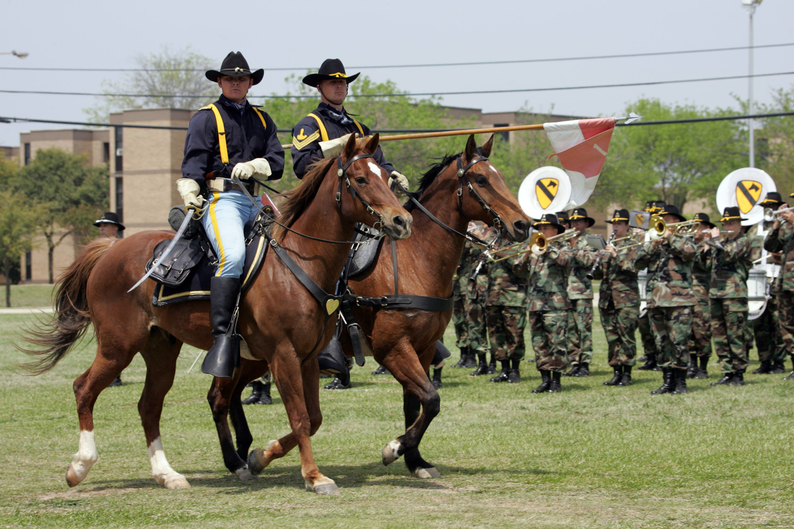 at cooper field fort hood texas the u s army 1st cavalry