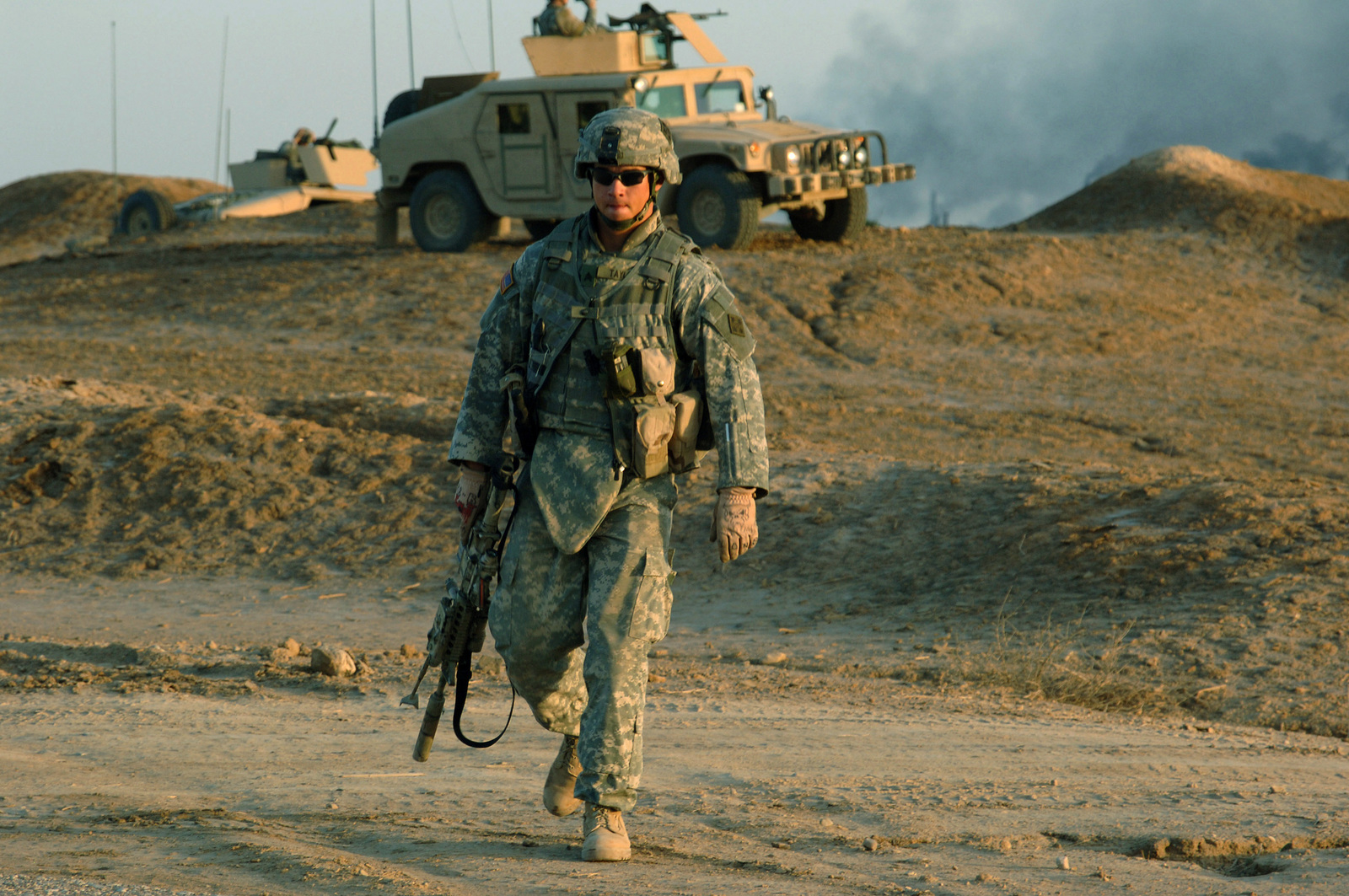 US Army (USA) Sergeant (SGT) Michael Taylor, Foxtrot Company (F Co), 1-68th Combined Arms Battalion (