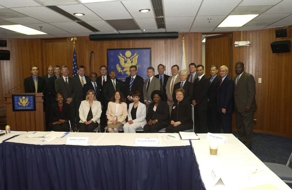 Office of the General Counsel Regional Counsel Meeting - Office of the General Counsel Regional Counsel Meeting at HUD Headquarters, [featuring remarks by Secretary Alphonso Jackson and General Counsel Keith Gottfried]