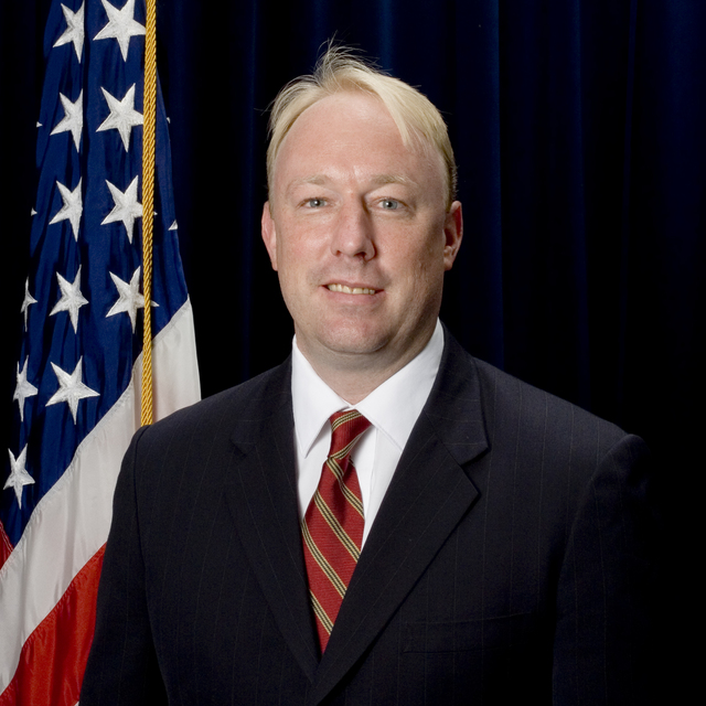 Washington, DC -- Casey Long, Director of Intergovernmental Affairs / Acting Director of International Affairs of FEMA at FEMA headquarters.  FEMA/Bill Koplitz
