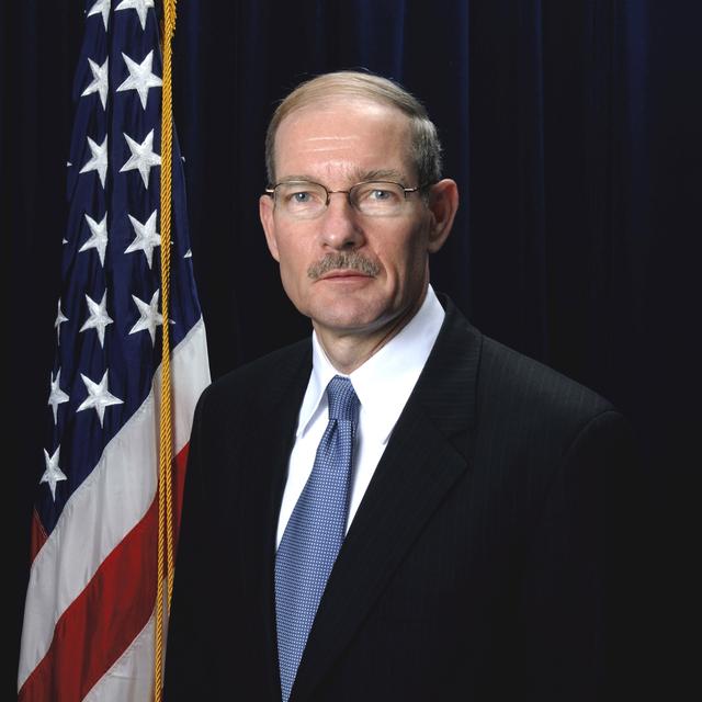 Washington, DC -- Vice Admiral Harvey Johnson, Deputy Director / Chief Operating Officer FEMA.  Bill Koplitz/FEMA