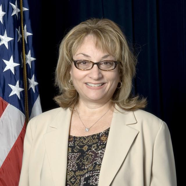 Washington, DC -- Patricia G. Arcuri, Acting Director, FEMA Region III (Philadelphia, PA) at FEMA Headquarters   FEMA/Bill Koplitz