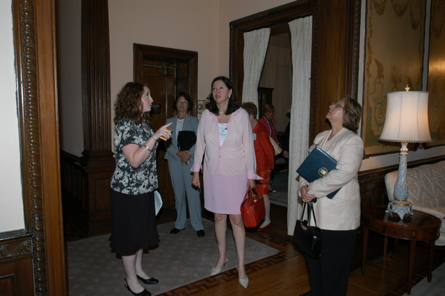 General Federation of Women's Clubs Headquarters Visit - Visit of HUD officials to the General Federation of Women's Clubs (GFWC) Headquarters, Washington, D.C.
