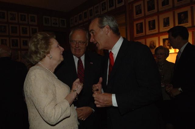 [Assignment: 48-DPA-SOI_K_Thatcher_9-12-06] Secretary Dirk Kempthorne with Britain's former Prime Minister, Margaret Thatcher, [at Main Interior] [48-DPA-SOI_K_Thatcher_9-12-06_IOD_5483.JPG]