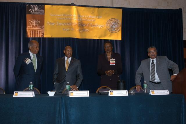 Historically Black Colleges and Universities (HBCU) Awards Event - Historically Black Colleges and Universities (HBCU) awards event at Washington, D.C.'s Hyatt Regency Hotel, [with Secretary Alphonso Jackson among the awards presenters]