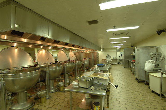 Cafeteria: Pre-Renovation - HUD cafeteria areas: pre-renovation project views