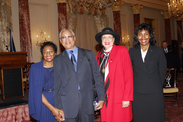 [Assignment: 59-CF-DS-32106-06] Event hosted by Secretary Condoleezza Rice in the Benjamin Franklin Room, marking the launch of the Ralph Bunche Societies Initiative... [Photographer: Ann Thomas--State] [59-CF-DS-32106-06_DSC0066.JPG]