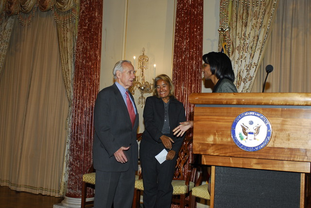 [Assignment: 59-CF-DS-32106-06] Event hosted by Secretary Condoleezza Rice in the Benjamin Franklin Room, marking the launch of the Ralph Bunche Societies Initiative... [Photographer: Ann Thomas--State] [59-CF-DS-32106-06_DSC0015.JPG]