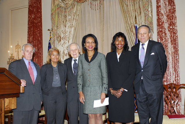 [Assignment: 59-CF-DS-32106-06] Event hosted by Secretary Condoleezza Rice in the Benjamin Franklin Room, marking the launch of the Ralph Bunche Societies Initiative... [Photographer: Ann Thomas--State] [59-CF-DS-32106-06_DSC0037.JPG]