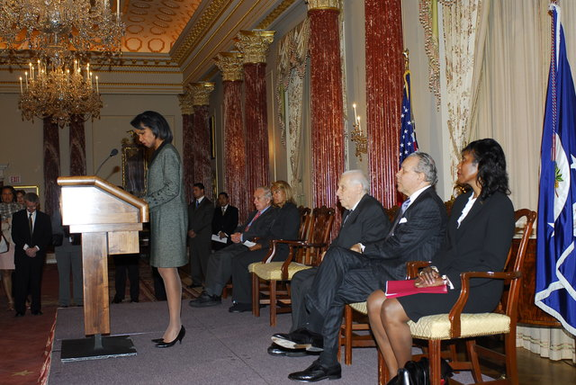 [Assignment: 59-CF-DS-32106-06] Event hosted by Secretary Condoleezza Rice in the Benjamin Franklin Room, marking the launch of the Ralph Bunche Societies Initiative... [Photographer: Ann Thomas--State] [59-CF-DS-32106-06_DSC0021.JPG]