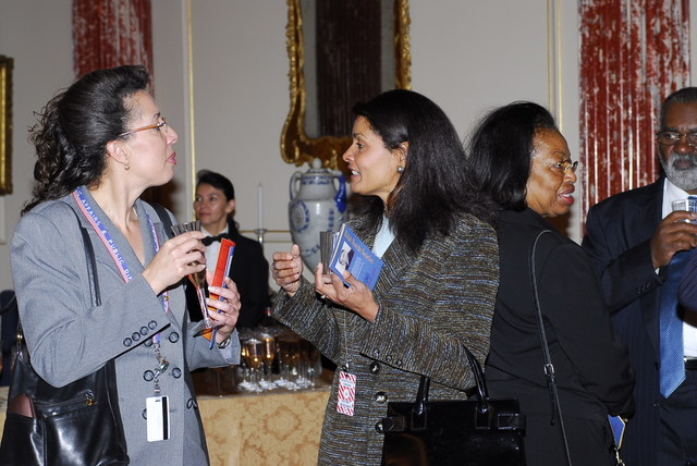 [Assignment: 59-CF-DS-32106-06] Event hosted by Secretary Condoleezza Rice in the Benjamin Franklin Room, marking the launch of the Ralph Bunche Societies Initiative... [Photographer: Ann Thomas--State] [59-CF-DS-32106-06_DSC0054.JPG]