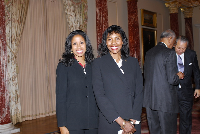 [Assignment: 59-CF-DS-32106-06] Event hosted by Secretary Condoleezza Rice in the Benjamin Franklin Room, marking the launch of the Ralph Bunche Societies Initiative... [Photographer: Ann Thomas--State] [59-CF-DS-32106-06_DSC0053.JPG]