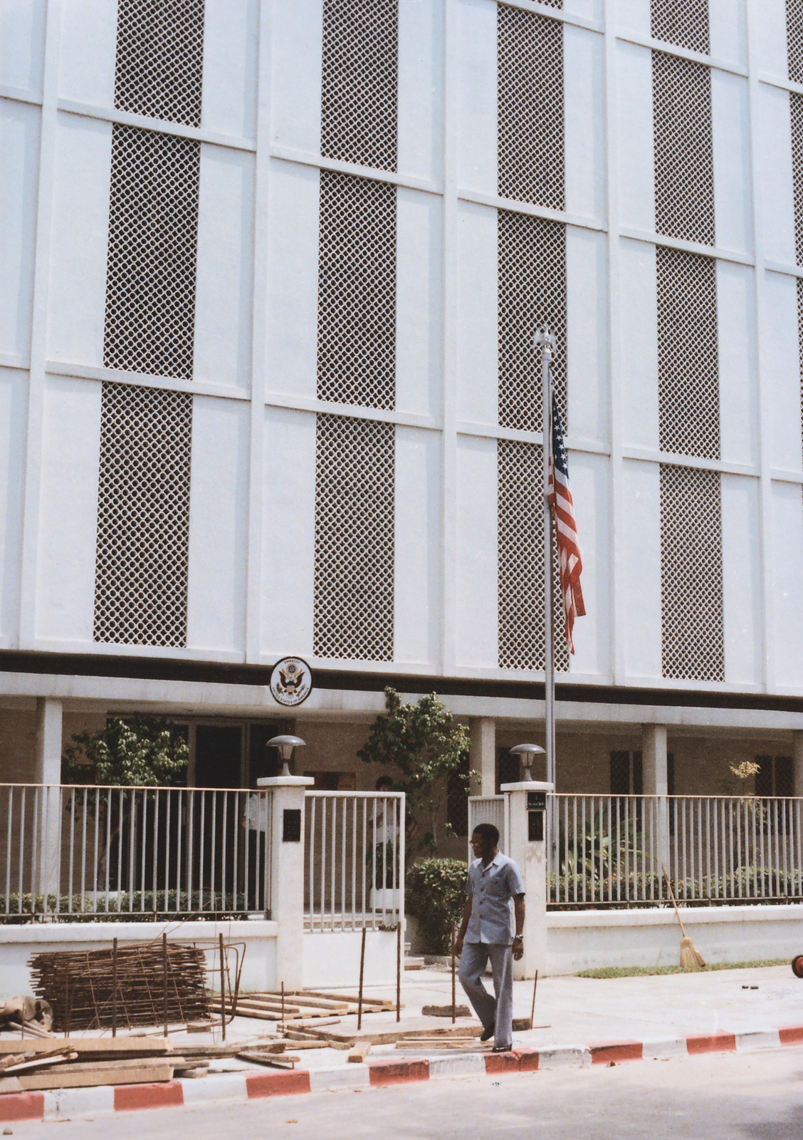Abidjan - Chancery Office Building - 1985