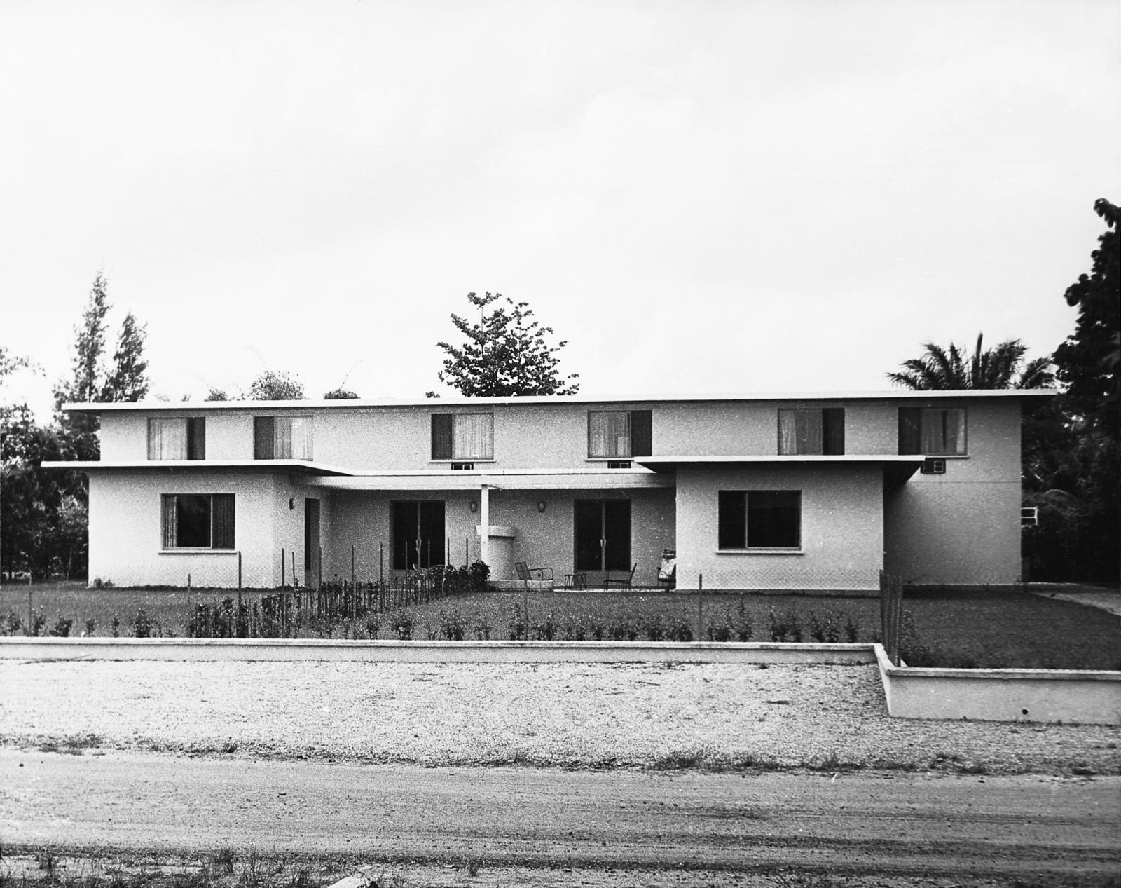 Abidjan - Multi-Unit Residential Building - 1962