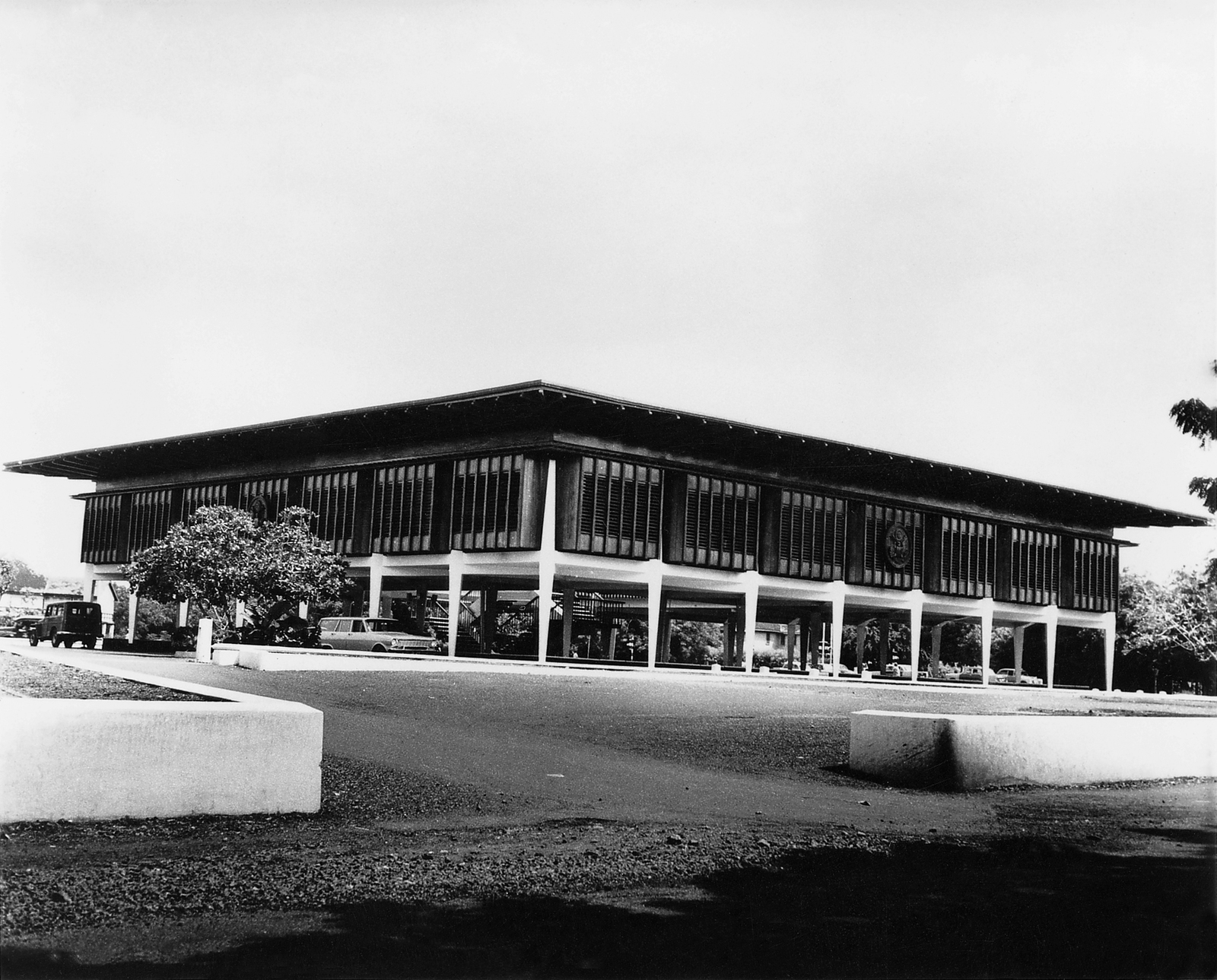 Accra - Chancery Office Building - 1959