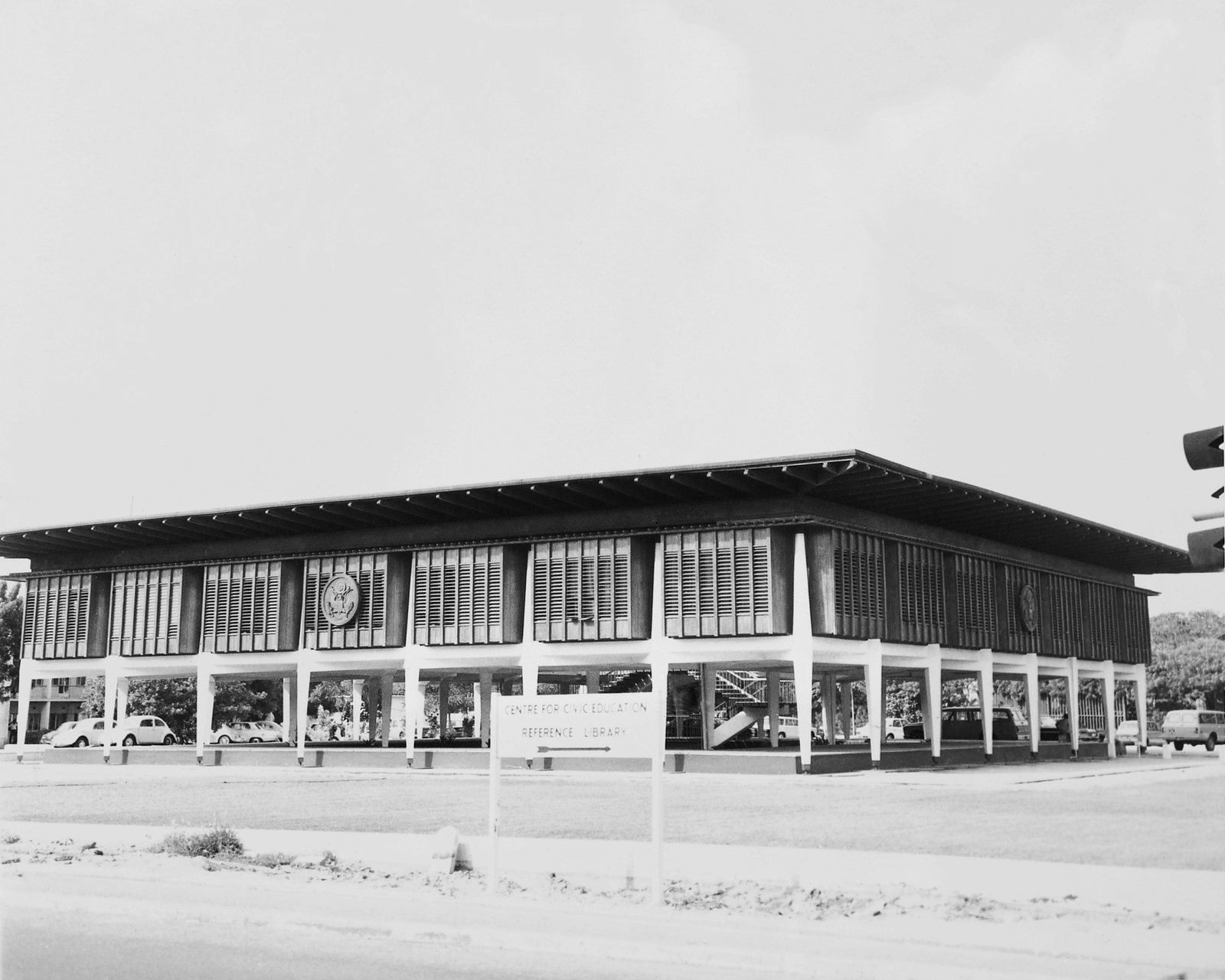 Accra - Chancery Office Building - 1964