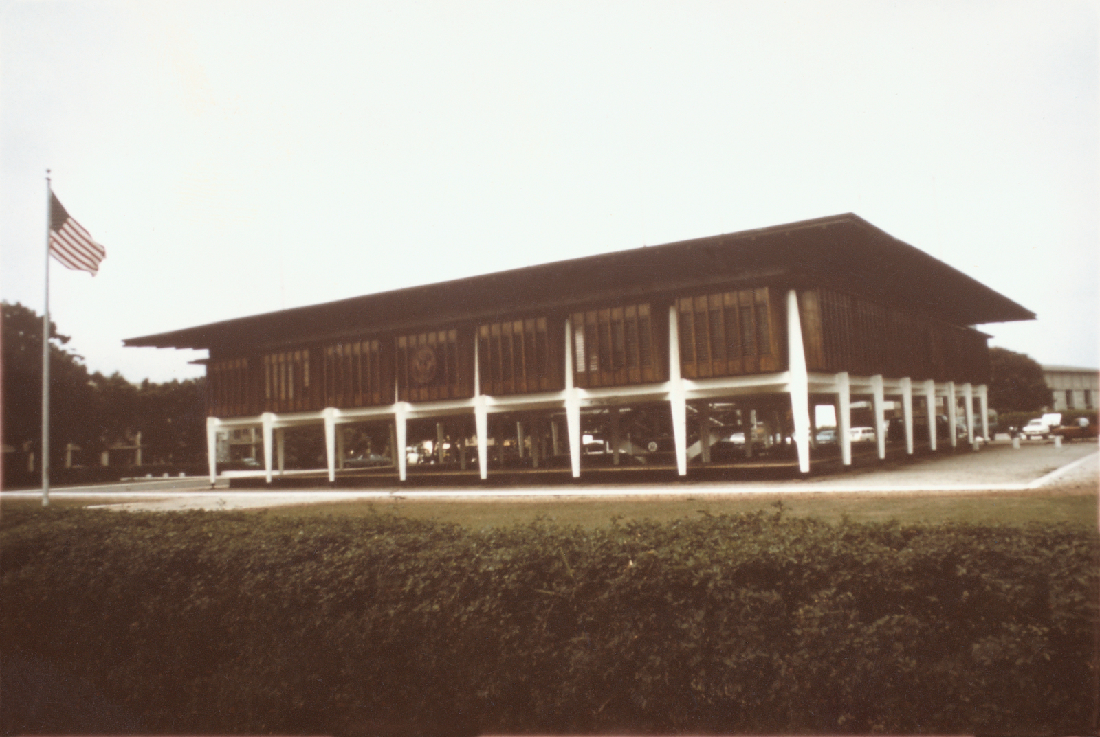 Accra - Chancery Office Building - 1973