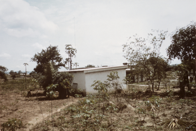 Accra - Communications Tower/Antenna/Roof - 1973