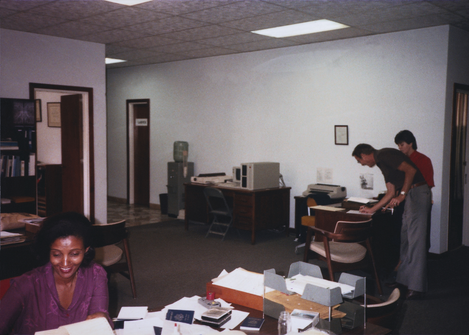 Addis Ababa - Annex Office Building - 1985
