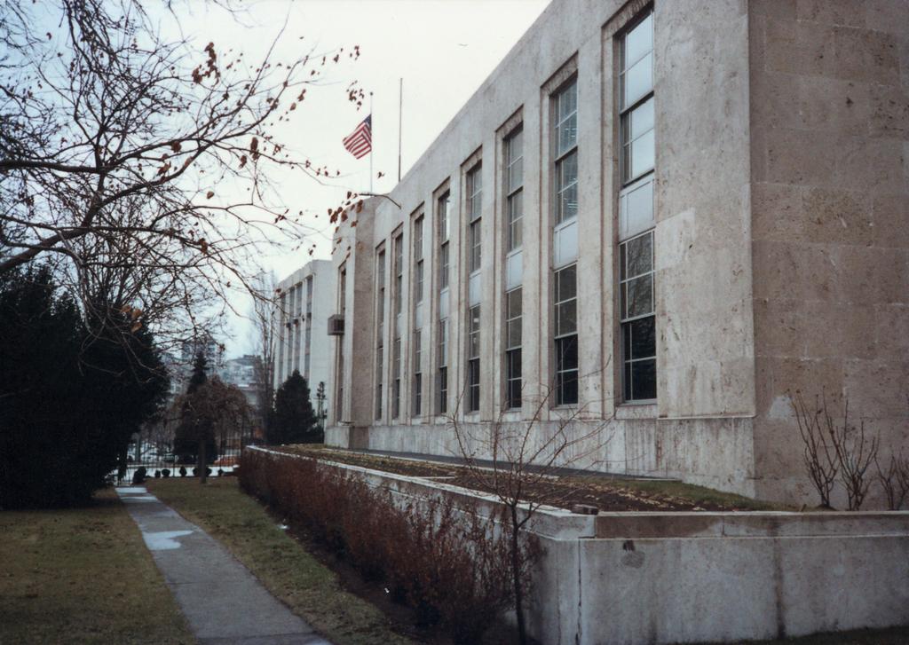 Ankara - Chancery Office Building - 1990