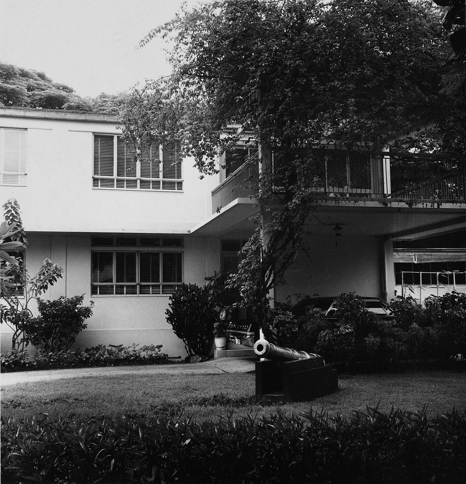 Bangkok - Army Attache Residence - 1963
