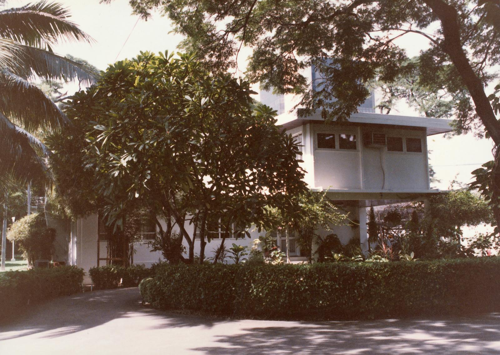 Bangkok - Army Attache Residence - 1980