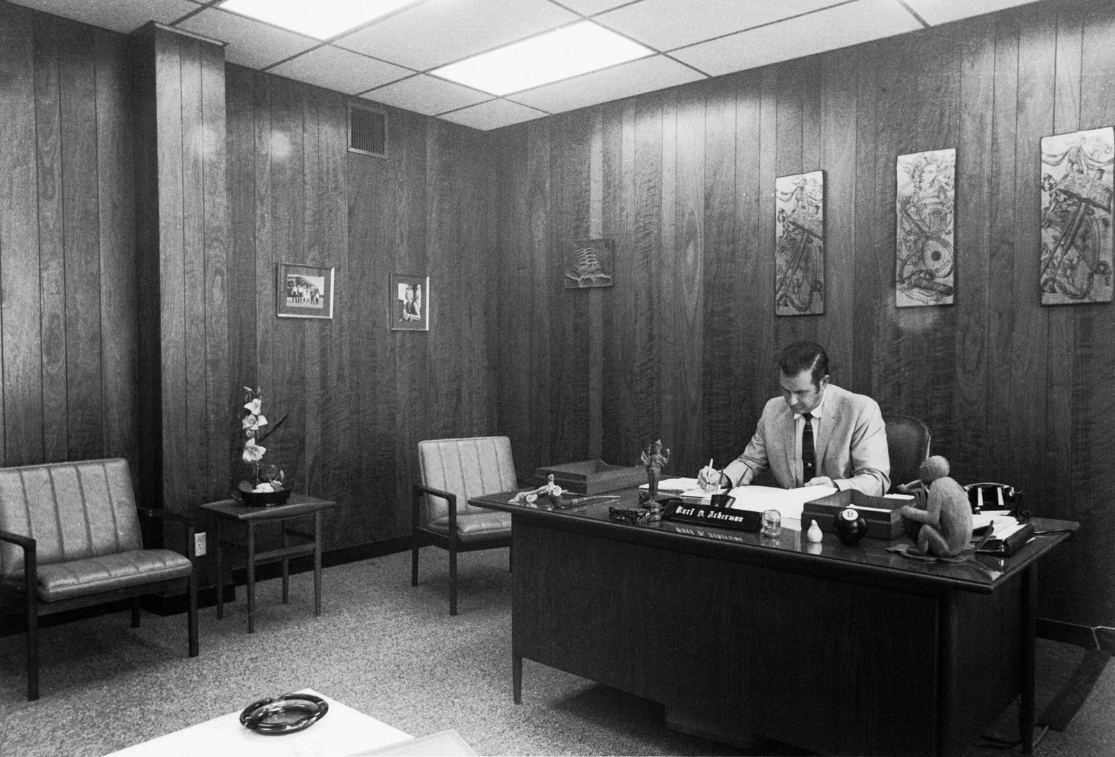 Bangkok - Chancery Office Building - 1969