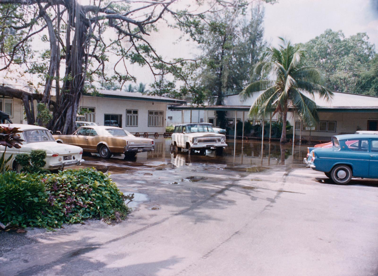 Bangkok - Chancery Office Building - 1974