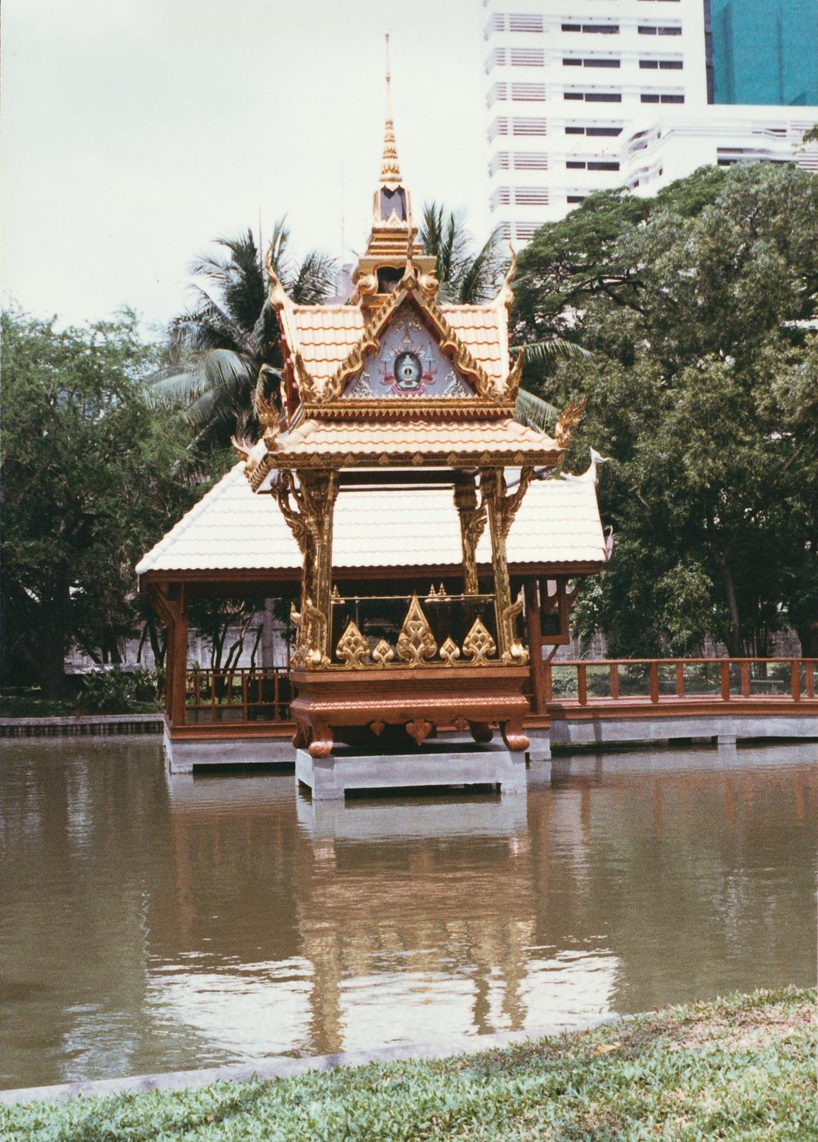 Bangkok - Compound Site - 1988