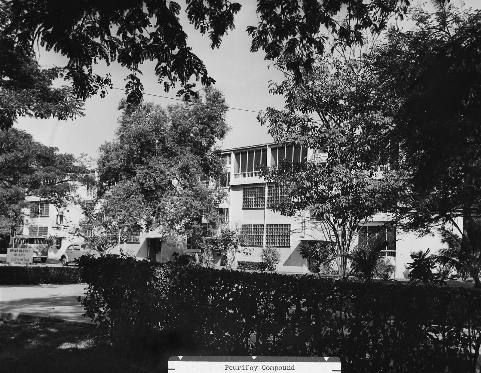 Bangkok - Multi-Unit Residential Building - 1963