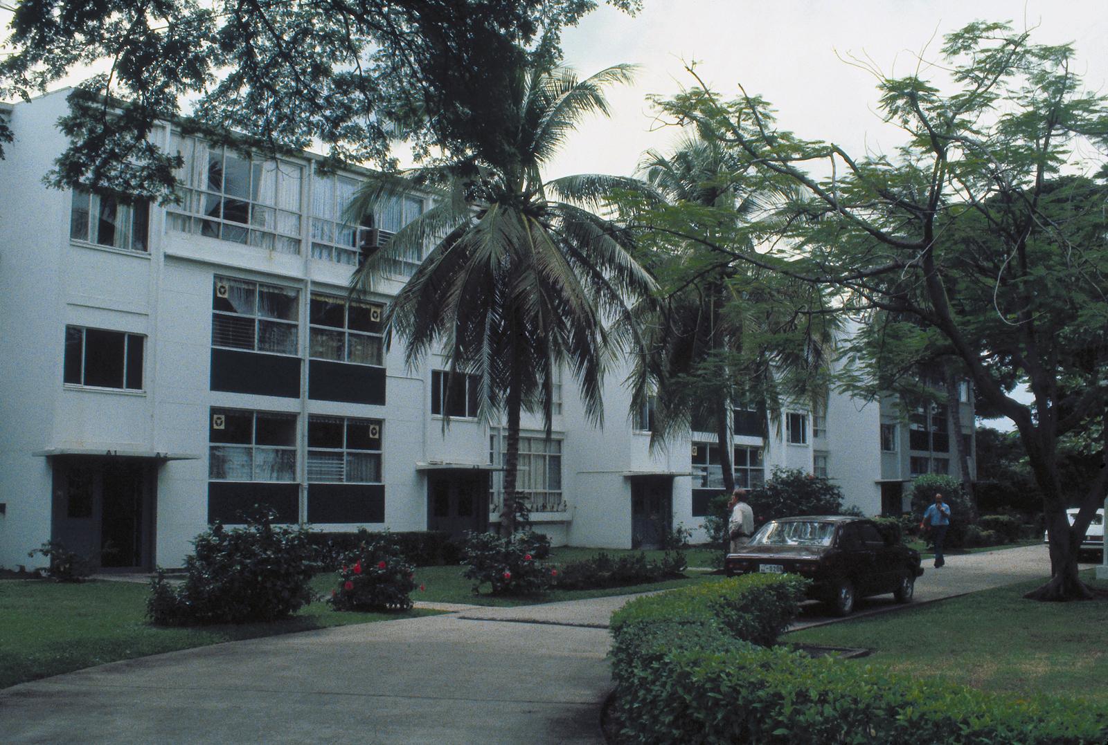 Bangkok - Multi-Unit Residential Building - 1981