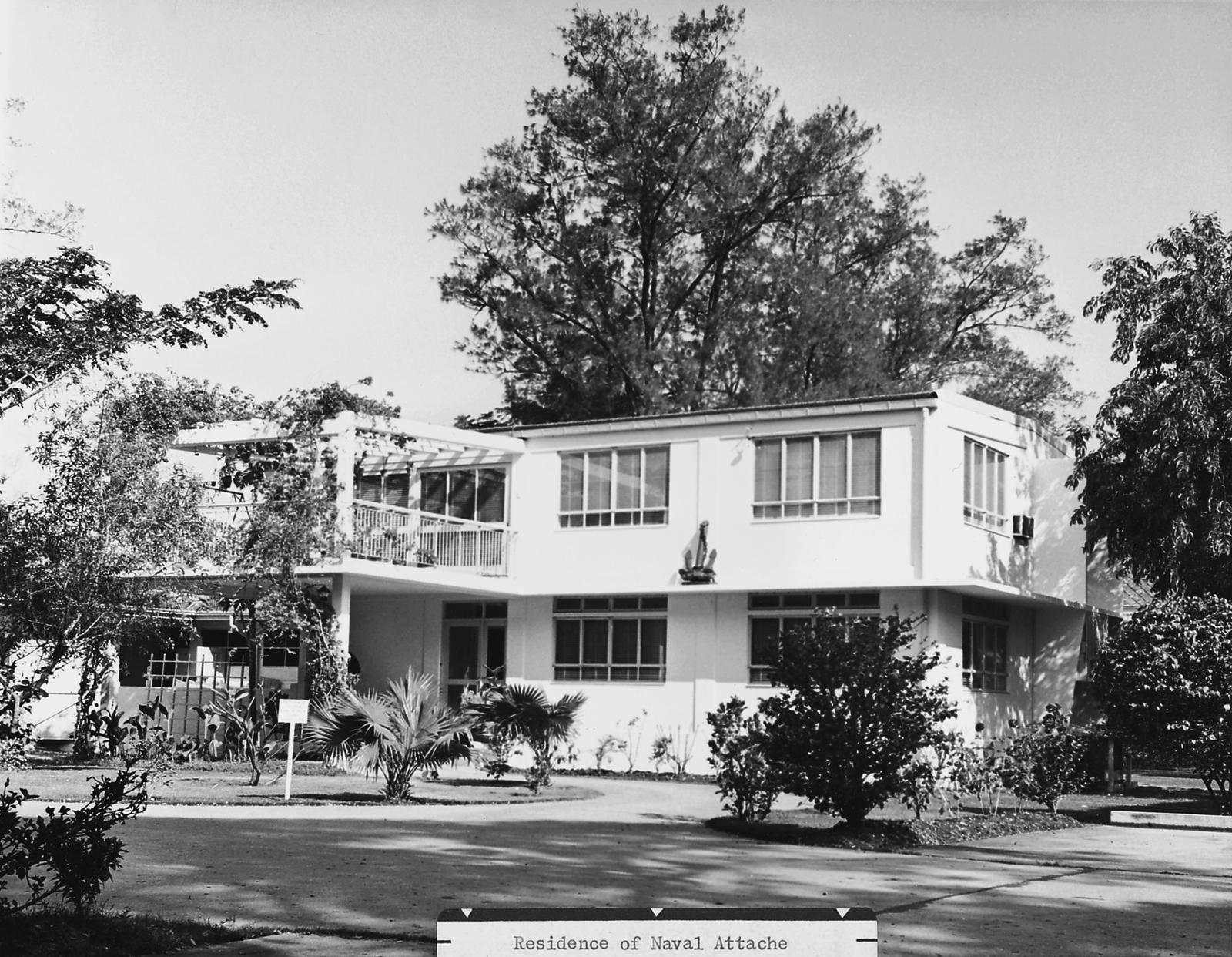 Bangkok - Residence of Naval Attache - 1963