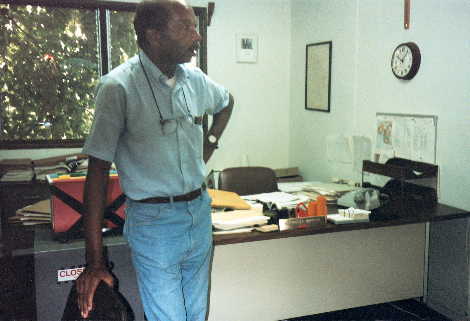 Banjul - Chancery Office Building - 1987