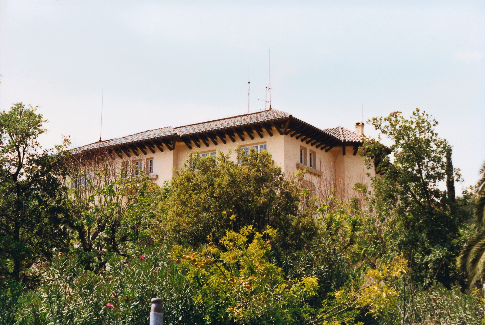 Barcelona - Consulate Office Building - 1990