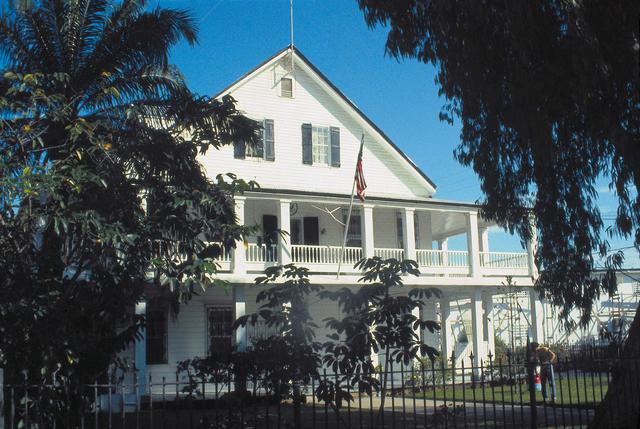Belize City - Chancery Office Building - 1981