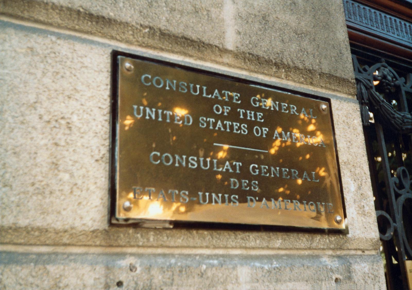 Bordeaux - Consulate Office Building - 1990