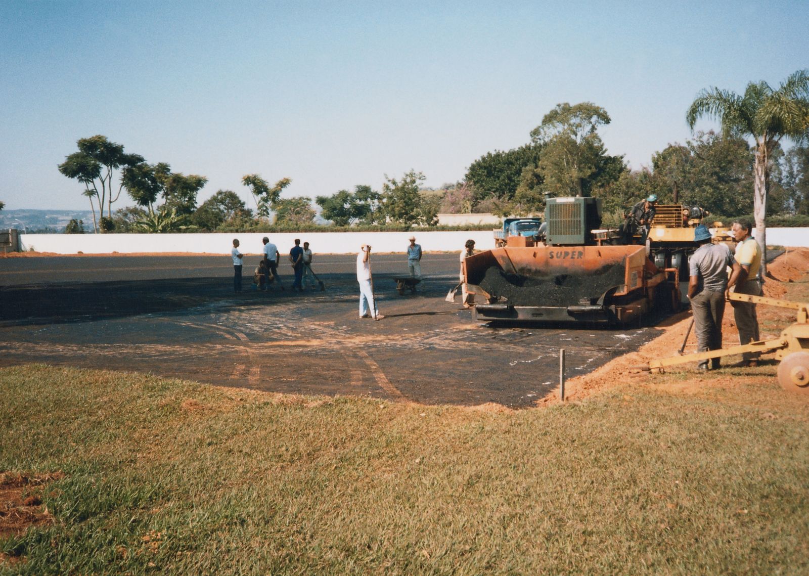 Brasilia - Compound Site - 1987