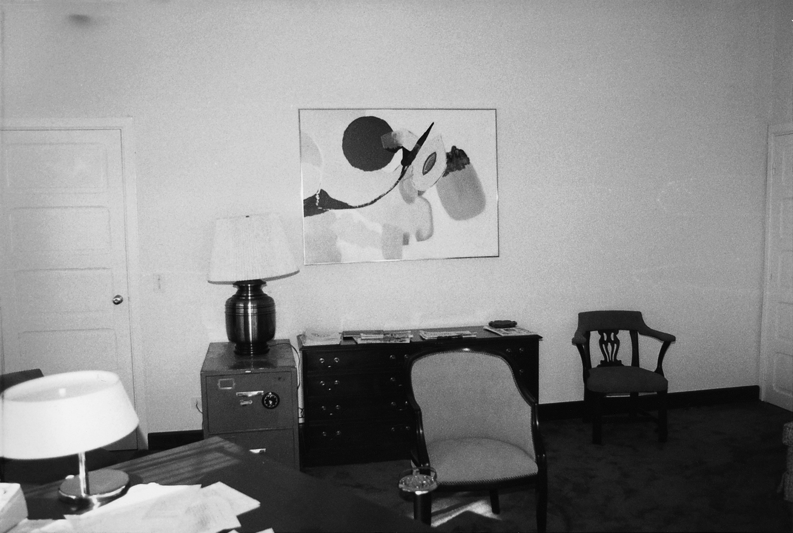 Brazzaville - Chancery Office Building - 1979