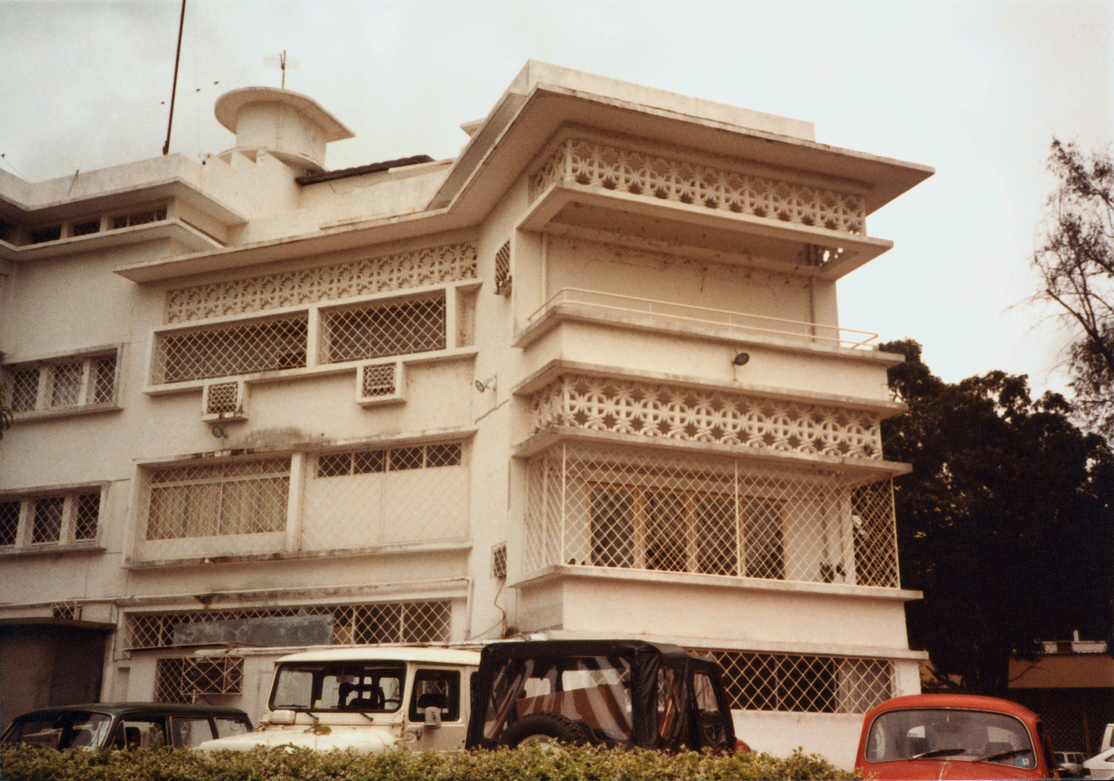Brazzaville - Chancery Office Building - 1983
