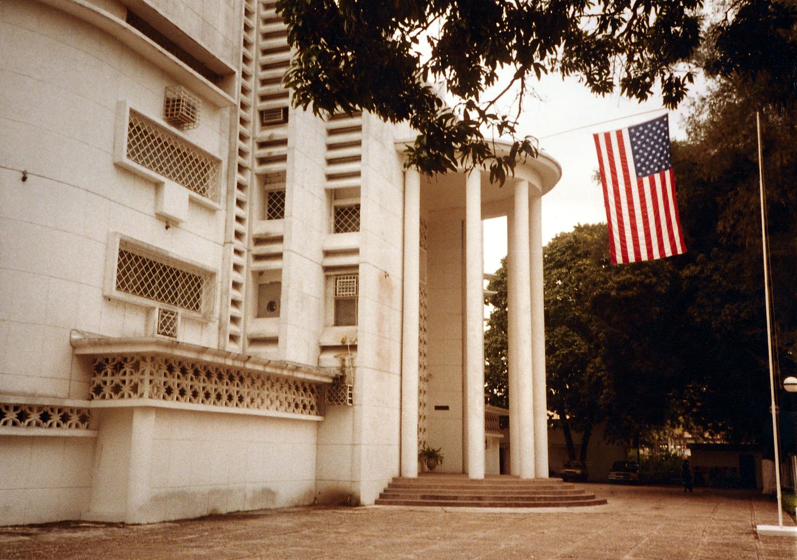 Brazzaville - Consulate Office Building - 1983