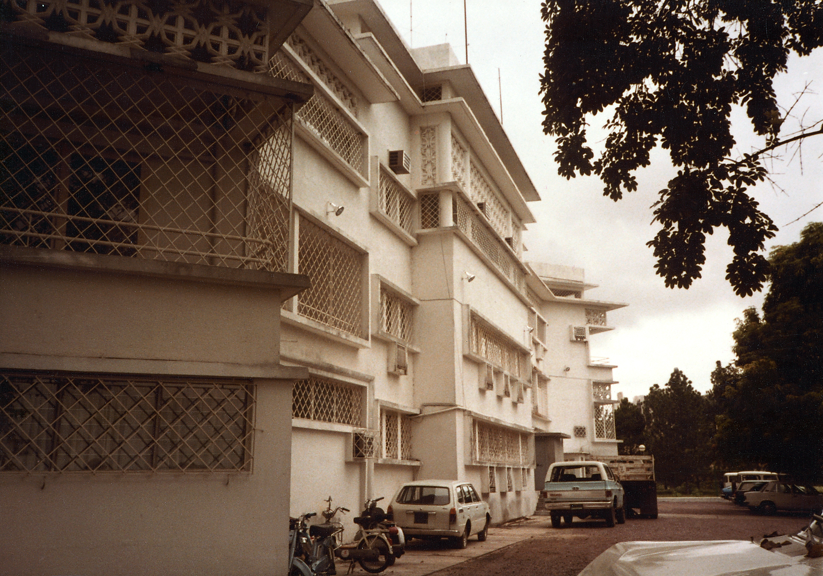 Brazzaville - Consulate Office Building - 1983