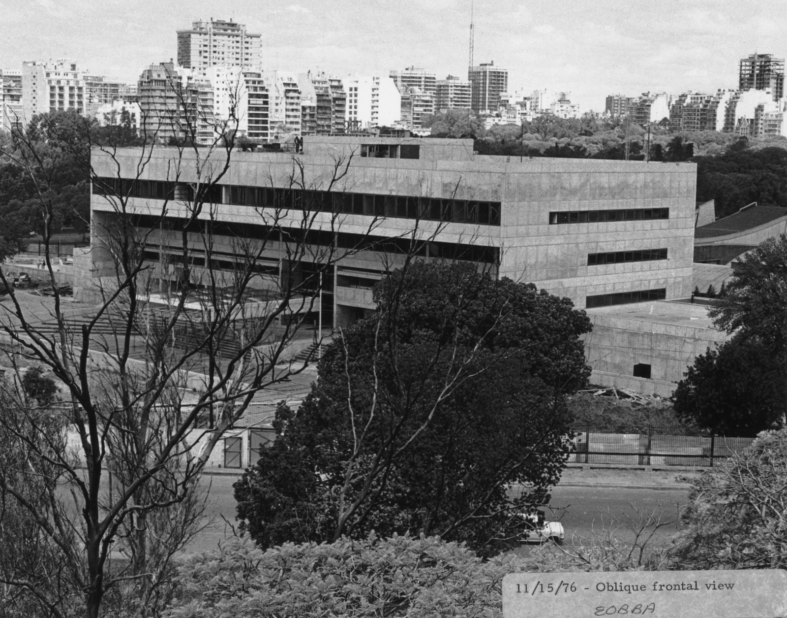 Buenos Aires - Chancery Office Building - 1977