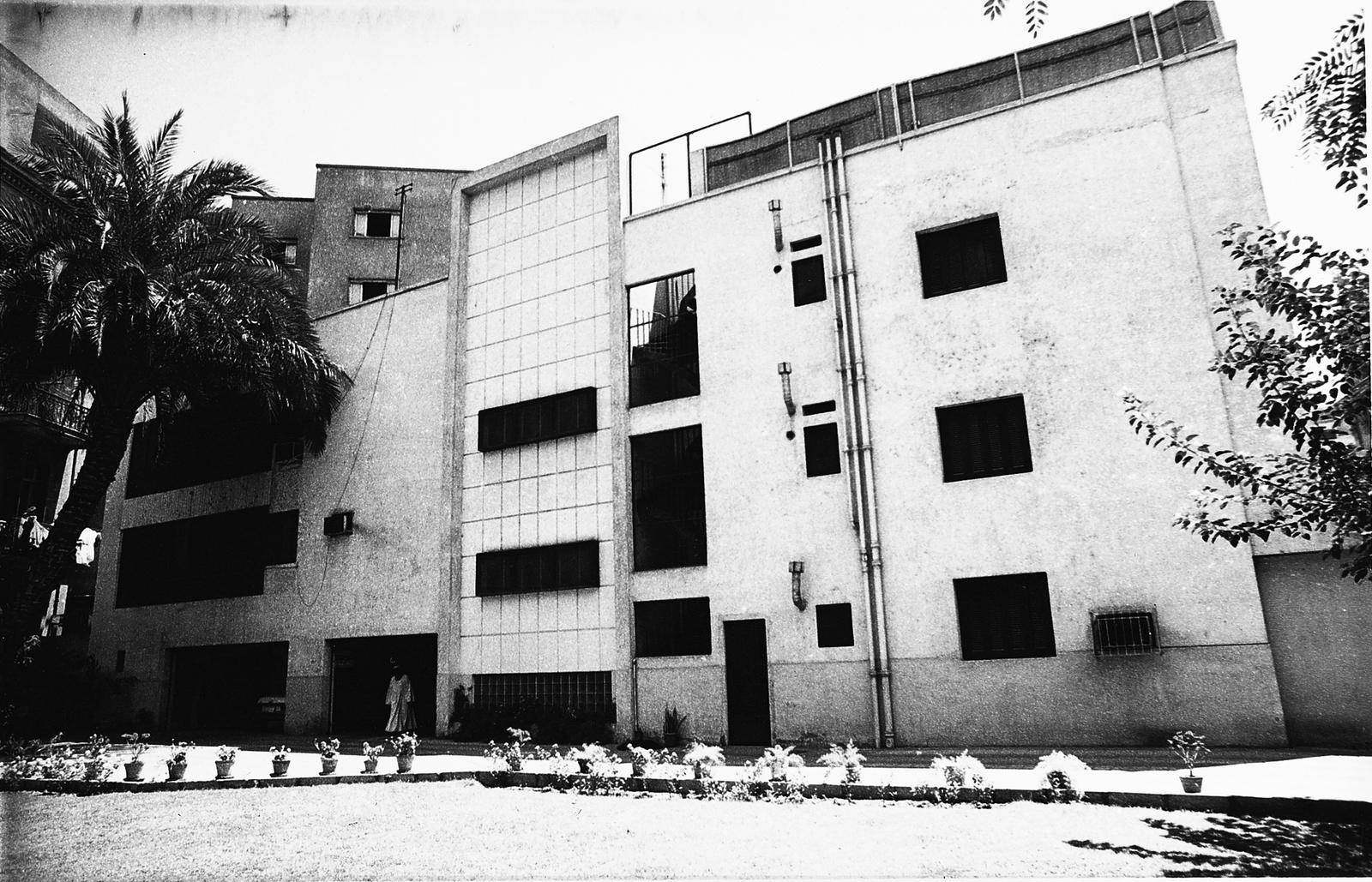 Cairo - Multi-Unit Residential Building - 1975